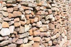 海运石墙 免版税库存照片