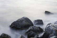 海运石头。 免版税库存图片