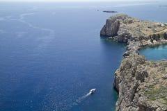 海运视图 免版税图库摄影
