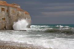 海运风暴 库存照片