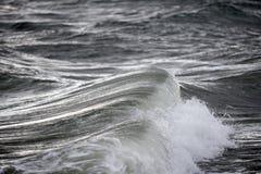海运风雨如磐的通知 库存图片
