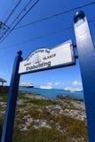 海遗产足迹,开曼群岛 免版税图库摄影