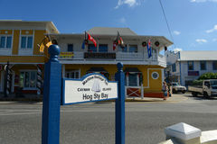 海遗产足迹,开曼群岛 免版税库存图片