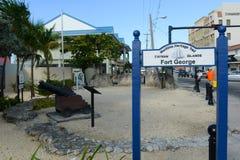 海遗产足迹,开曼群岛 库存图片