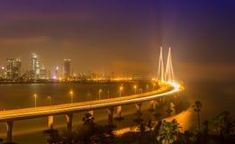 海链接,孟买,印度 免版税图库摄影