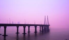 海链接,孟买 免版税库存图片