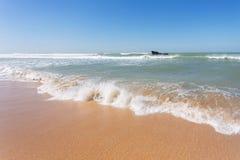 海难在大西洋 免版税图库摄影