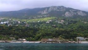 海风景,从海的看法岸的 股票录像