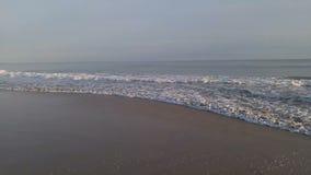 海风景-海岸线和海波浪 影视素材