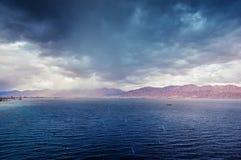 海风暴 免版税库存图片