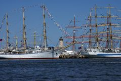 黑海高船赛船会2014年 库存照片