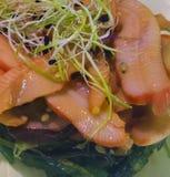 海鲜和海藻 免版税库存照片