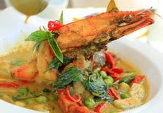 海鲜咖喱 库存照片