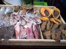 海鲜在亚庇 图库摄影