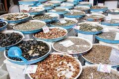 海鲜市场 免版税图库摄影
