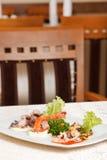 海鲜开胃菜 库存照片