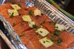 海鲜晚餐 库存照片