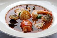 海鲜汤 图库摄影