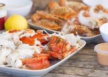 海鲜盛肉盘澳大利亚 免版税库存图片