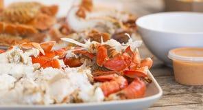 海鲜盛肉盘澳大利亚 库存照片