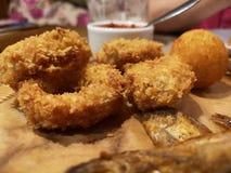 海鲜鱼虾各种各样的海鲜 免版税库存图片