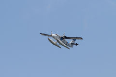 海鸟航空公司水上飞机 库存图片