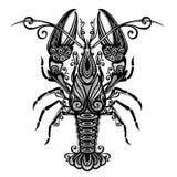 海龙虾 库存例证