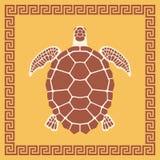海龟装饰品 免版税库存图片