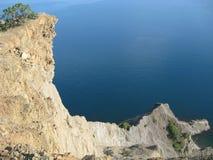 黑海,克里米亚山 免版税图库摄影