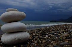 海,海滩 免版税库存照片