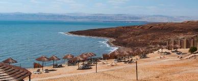 死海,盐海,约旦,中东 库存图片