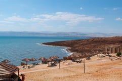 死海,盐海,约旦,中东 图库摄影