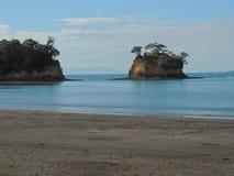 海滩、太阳和海 库存图片