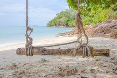 海滩、自然、海、夏天和休闲概念 图库摄影