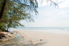 海滩。 免版税库存照片