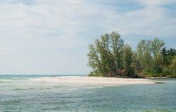 海滩。 库存图片
