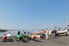 海洋水下武器 免版税库存图片
