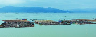海洋水产养殖 库存照片