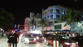 海滩佛罗里达南的迈阿密 免版税库存照片