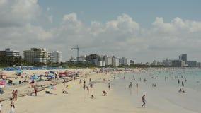 海滩佛罗里达迈阿密 免版税库存照片