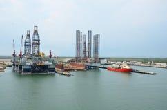 海洋修理产业 库存照片