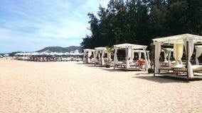 海滩俱乐部越南芽庄市 免版税图库摄影