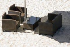海滩俱乐部 库存照片