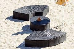 海滩俱乐部 图库摄影