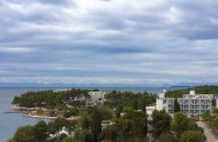 海滨克罗地亚 图库摄影