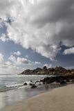 海滩兰迪德诺,开普敦 免版税库存图片