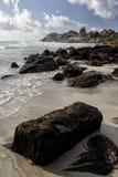 海滩兰迪德诺,开普敦 库存照片