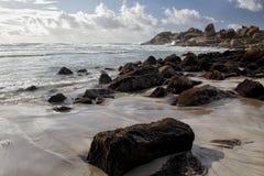 海滩兰迪德诺,开普敦 图库摄影