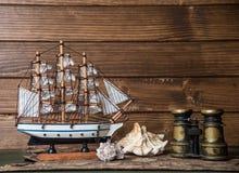 海洋冒险家的笔记 免版税库存图片