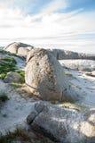 海滩冰砾开普敦 图库摄影